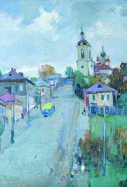 В Калужском музее изобразительных искусств открылась выставка живописи Никифора Николаевича Яськова (1898 – 1994 годы)