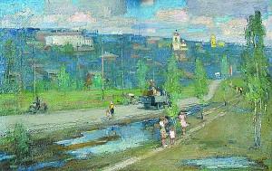 """Н. Н. Яськов. """"После дождя"""" калуга"""
