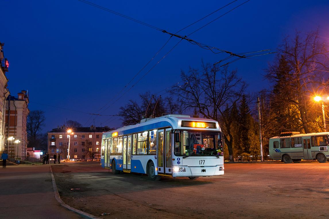 В рождественскую ночь в Калуге будет организовано движение 8 троллейбусов