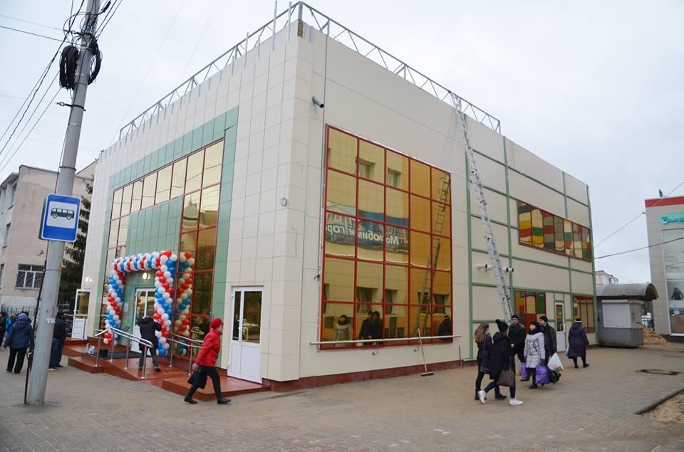 Начал работу новый автовокзал на улице Гагарина