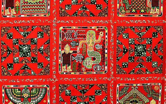 В витрине Калужского Дома художника представлены работы члена КО СХР Галины Мурзаевой