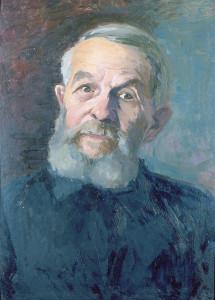 Евгений Китайкин. Портрет краеведа Грознова А.В. калуга