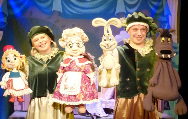 В репертуаре Калужского театра кукол появился интерактивный спектакль «Красная шапочка»