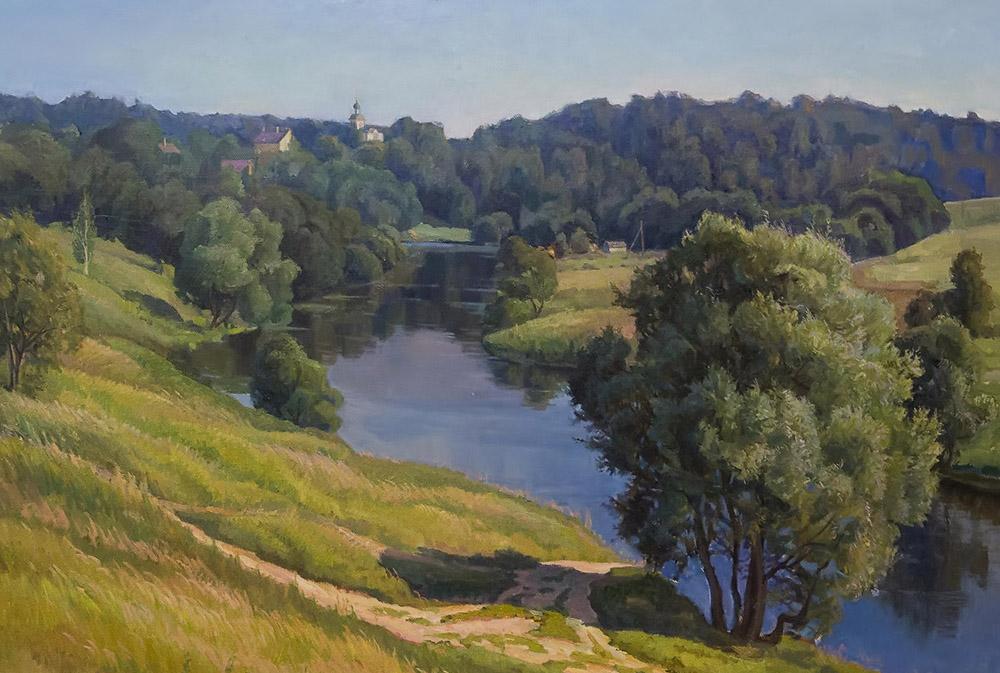 В Калужском музее изобразительных искусств открылась выставка живописи А. А. Шилова