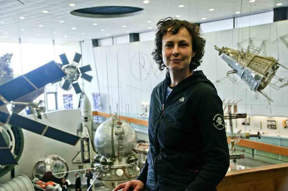 «Космос наш. Ура!»: Юлия Чичерина побывала в Государственном музее истории космонавтики