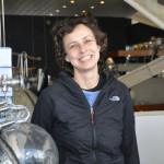 Юлия Чичерина в Государственном музее истории космонавтики