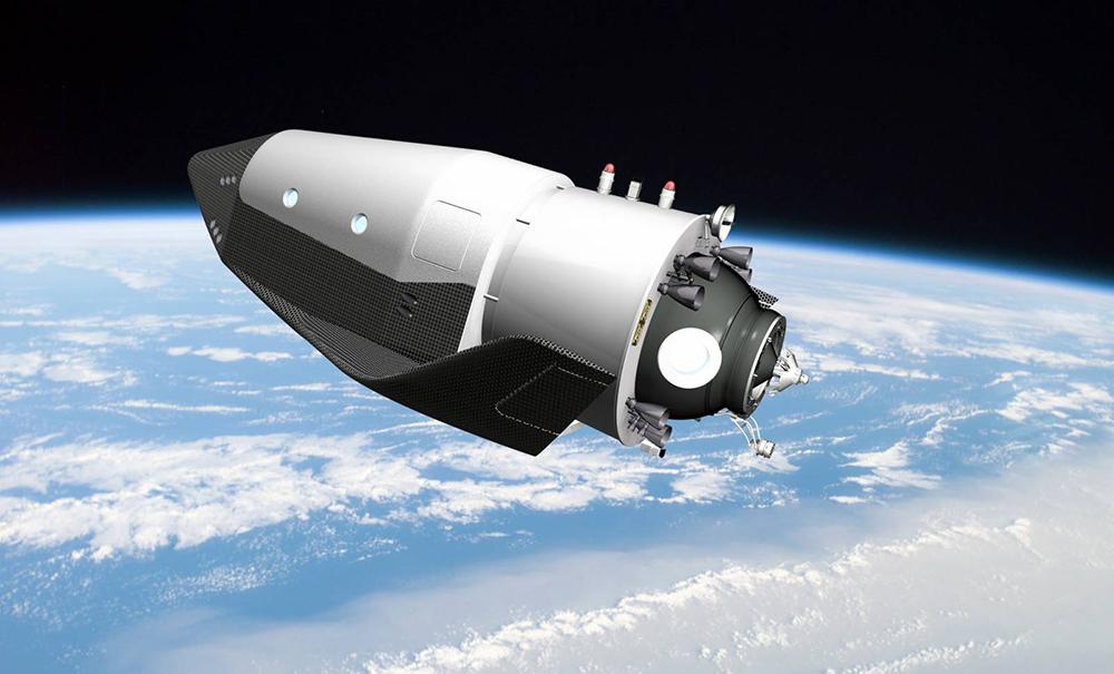 Новый экспонат в Государственном музее космонавтики: КК «Федерация» — космический корабль будущего