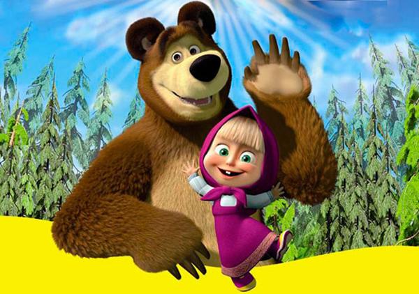 2 апреля на Арене КТЗ пройдёт новый музыкальный спектакль «Маша и Медведь»