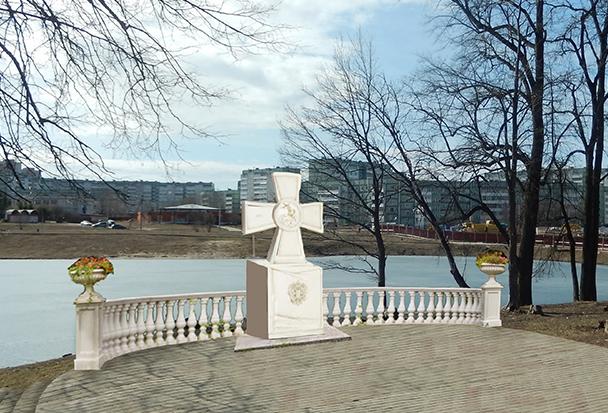 В Обнинске, Калуге, Москве, Париже, Могилёве, Белграде и Нише появятся памятные знаки «Георгиевский крест»