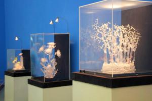 На выставке «Волшебный мир стекла Алексея Зеля» калуга