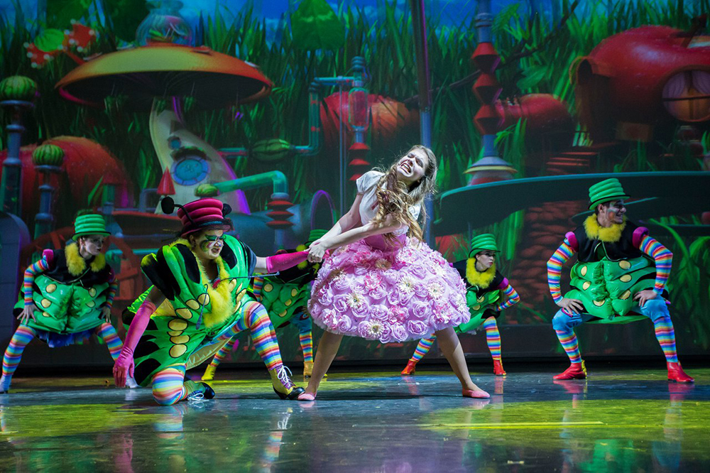 16 апреля Калужская областная филармония приглашает на 3D мюзикл для всей семьи «Алиса в стране чудес»
