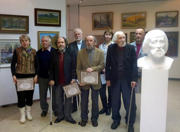 В Доме художника наградили победителей выставки «Итоговая»