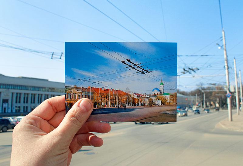 Выпущен уникальный набор открыток «Советская Калуга»