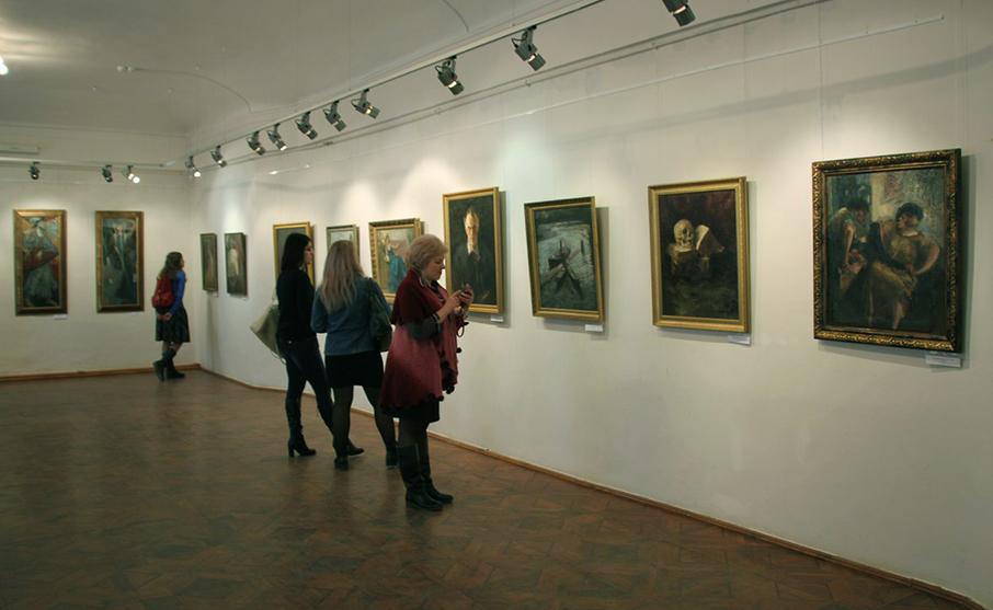 В Калужском музее изобразительных искусств открылась выставка «Становление стиля модерн в русском искусстве»