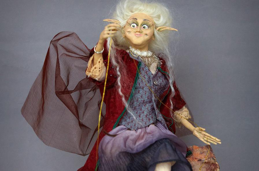 В Доме мастеров представлена выставка интерьерной куклы