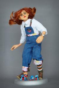 В Доме мастеров представлена выставка интерьерной куклы в калуге