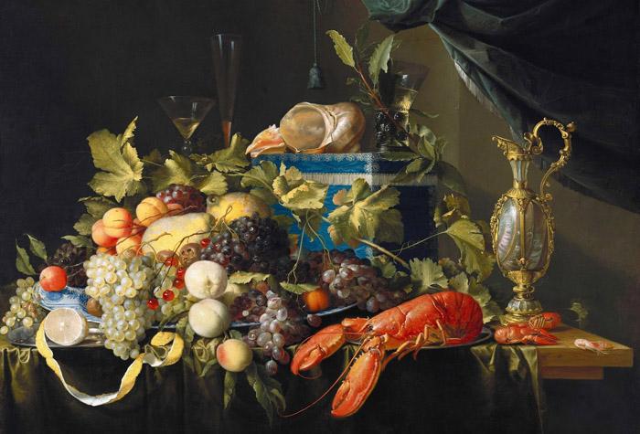 Антикафе «Небо» приглашает на искусствоведческую лекцию «Загадки голландского натюрморта XVII века»