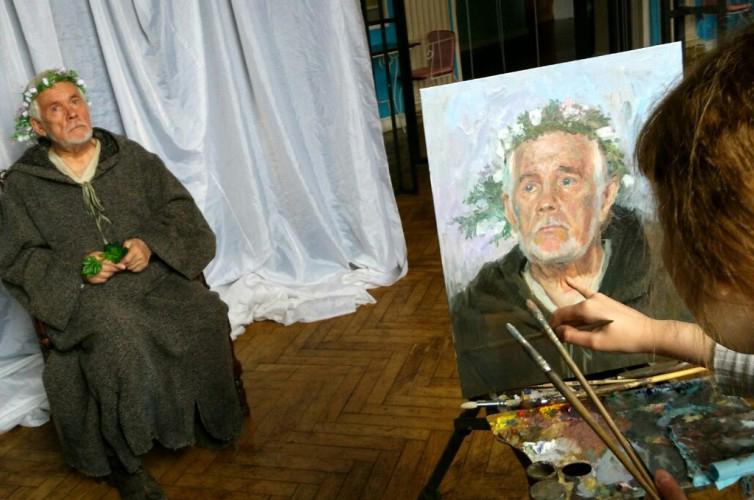 Созданы портреты актёров Калужского областного драматического театра в рамках проекта «Театральный мир в изобразительном искусстве»