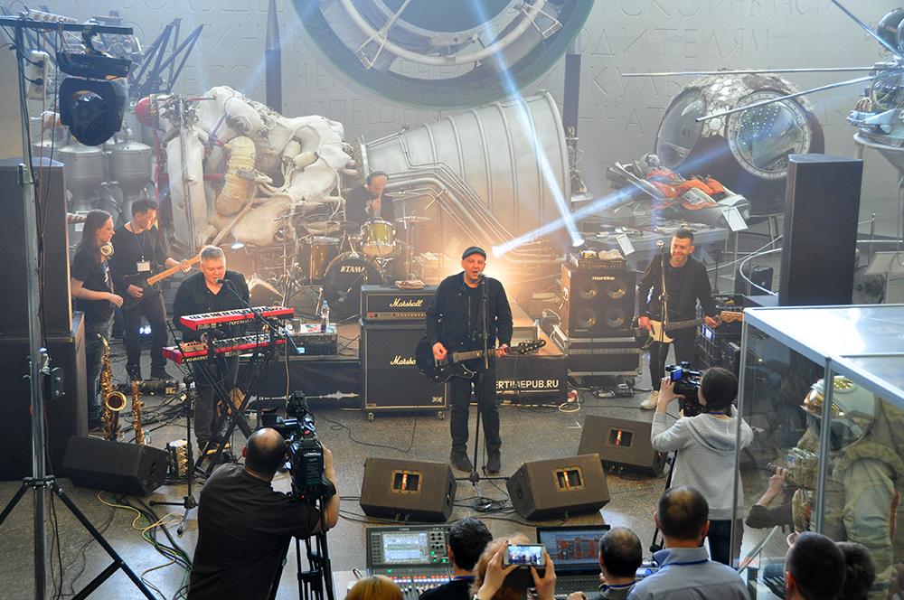 В Государственном музее истории космонавтики прошёл рок-концерт впервые в истории музея