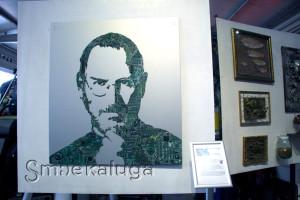 «Стив Джобс из микросхем» дизайнера Алины Белоусовой калуга