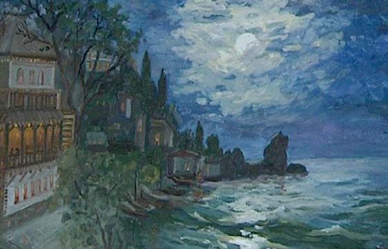 В Калужском музее изобразительных искусств открылась персональная выставка Л. Ведяевой «Крым. Волшебный край. Очей отрада!»