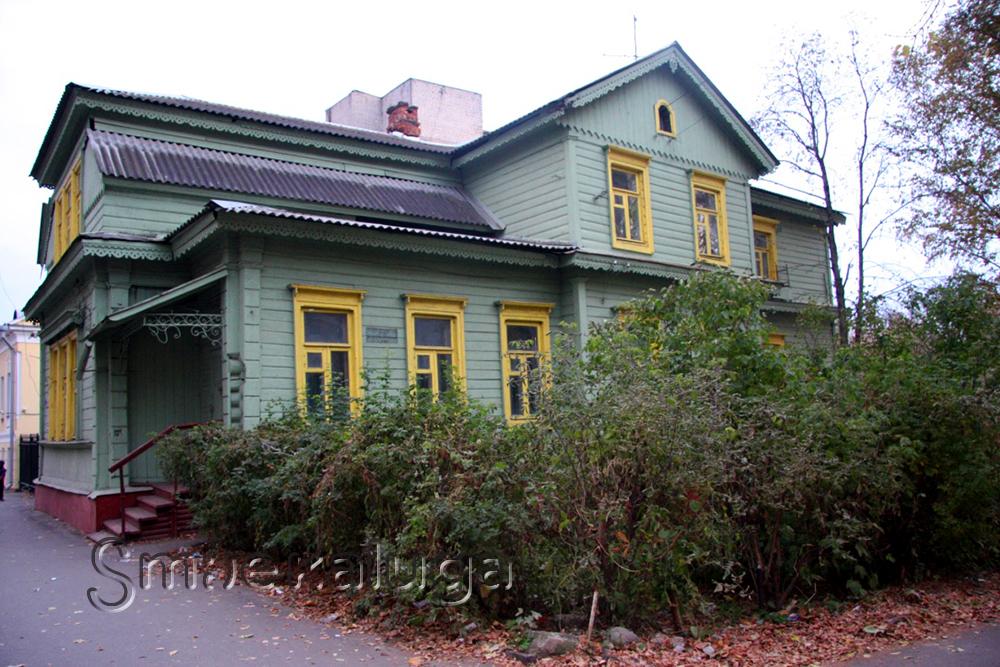 Старинный дом-»терем» на Салтыкова-Щедрина, ставший свидетелем оккупации Калуги
