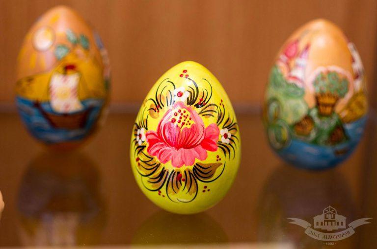 В Доме мастеров открылась выставка «Пасхальный подарок»