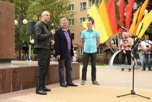 В акции приняли участие Анатолий Артамонов и Антон Силуанов калуга