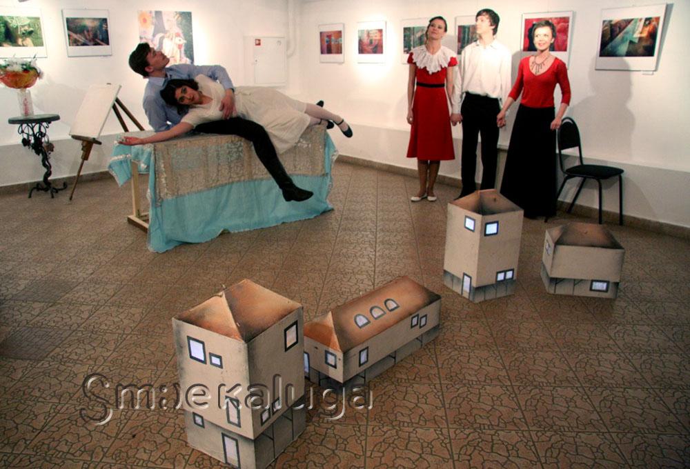 IV фестиваль современного искусства «Циолковский Фест» открылся «Галерейной ночью»