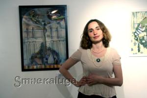 Участница выставки Елизавета Невинная калуга