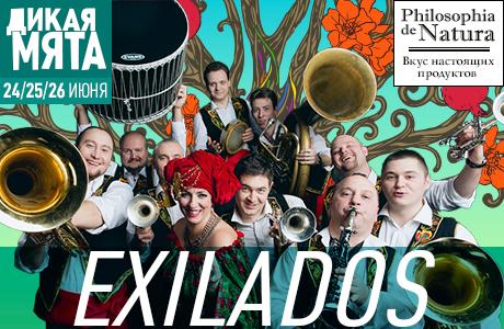 На фестивале «Дикая Мята» — 2016 выступят «Exilados»