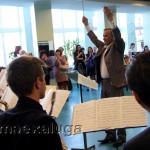 Перед началом концерта настроение создавал джазовый оркестр калуга