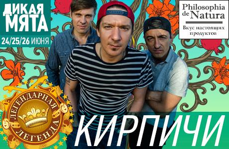 На фестивале «Дикая Мята» — 2016 выступят «Кирпичи»