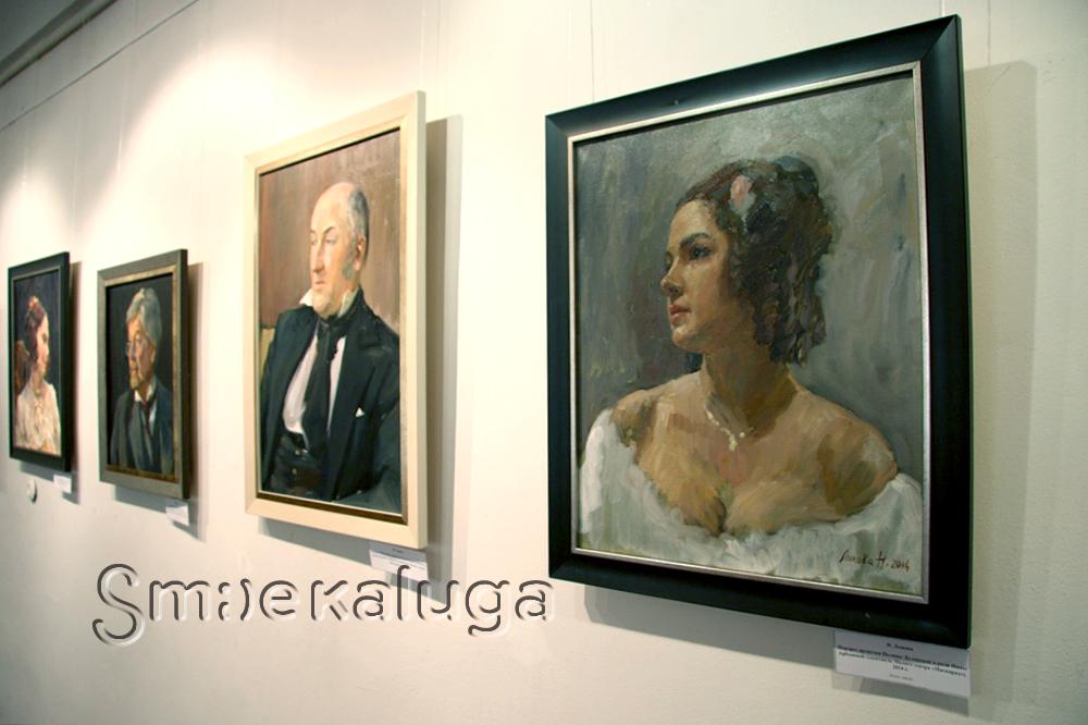 В КМИИ открылась уникальная выставка «Любимые артисты театра и кино в портретах художников»
