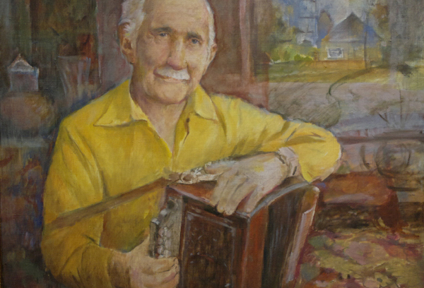 В выставочном зале Калужского Дома художника открылась персональная выставка Владимира Зайчикова