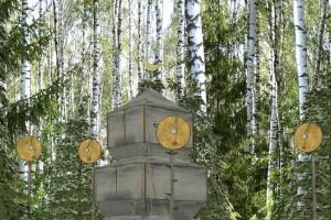 "Арт-объект ""Походная Пагода"" калуга"