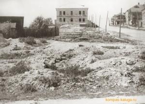 Салтыкова-Щедрина после оккупации города (источник http://kompas-kaluga.ru/)