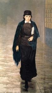 """Н. Ярошенко. """"Курсистка"""" (1880 год) калуга"""