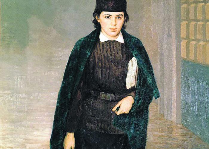 Музей онлайн: История картины и жизни «Курсистки» Николая Ярошенко