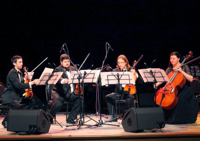 На закрытии сезона Калужской областной филармонии зрителям были представлены два новых коллектива
