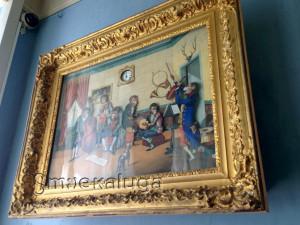 Часы-картина «Обезьяний оркестр» калуга