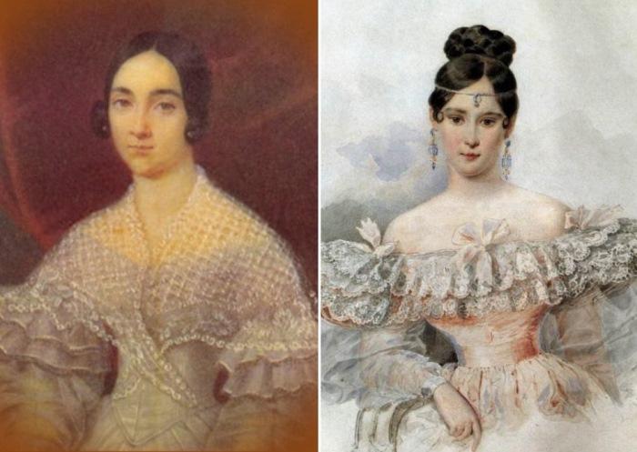 В Полотняном заводе представлен портрет Екатерины Николаевны Дантес-Геккерн