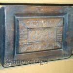 Пряничная доска в надписью (в экспозиции музея) калуга