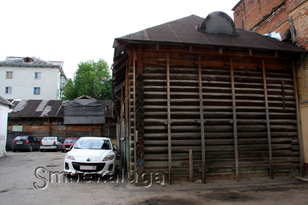 Конюшни дома Кожевниковых (деревянные и каменные)