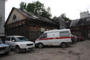Конюшни дома Кожевниковых город калуга