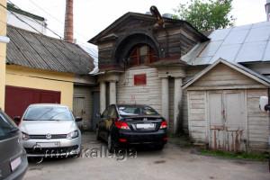 Конюшни дома Кожевниковых в калуге