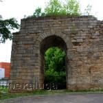 Сохранившиеся опоры Брянского моста