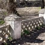 Советские ограды дворов кадуга
