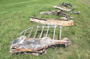 Останки бомбардировщика Ер-2 калуга