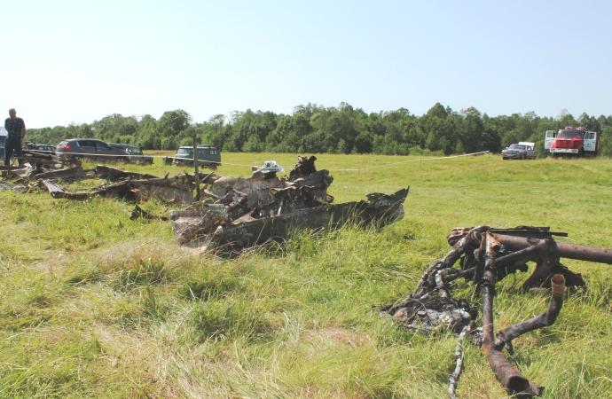 Останки поднятого самолёта под Юхновым будут экспонировать в музейном павильоне на территории нацпарка Угра